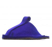 Тапочки войлочные домашние - цвет фиолетовый
