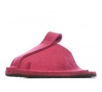 Тапочки войлочные домашние - цвет розовый