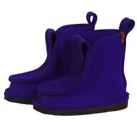 Сшитые валенки средние - цвет фиолетовый