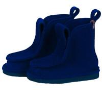 Сшитые валенки средние - цвет темно синий