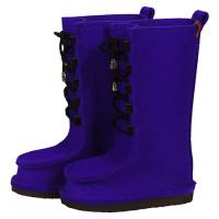 Сшитые валенки высокие - цвет фиолет